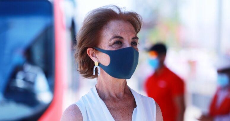 Gloria Hutt respalda a Guevara y descarta mayor riesgo de contagio en el transporte público