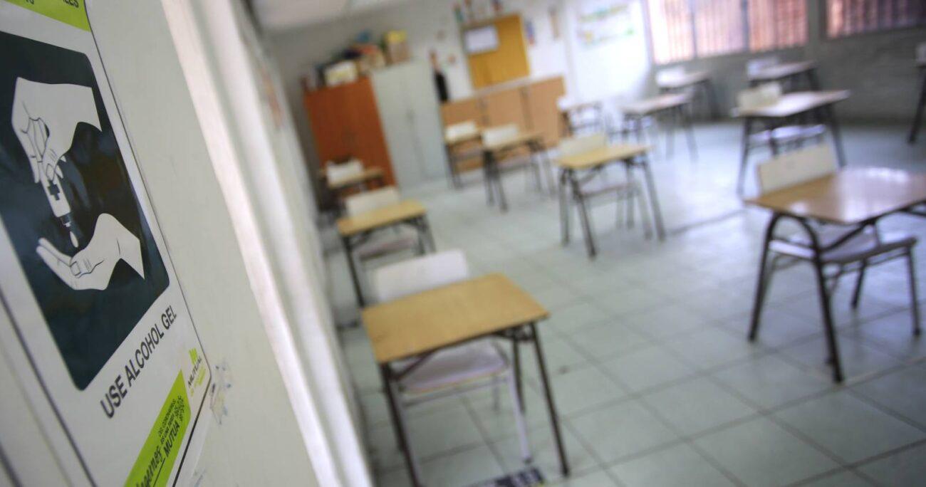 Actualmente, los colegios pueden abrir sus puertas desde la fase 2 en adelante (Agencia UNO/Archivo).