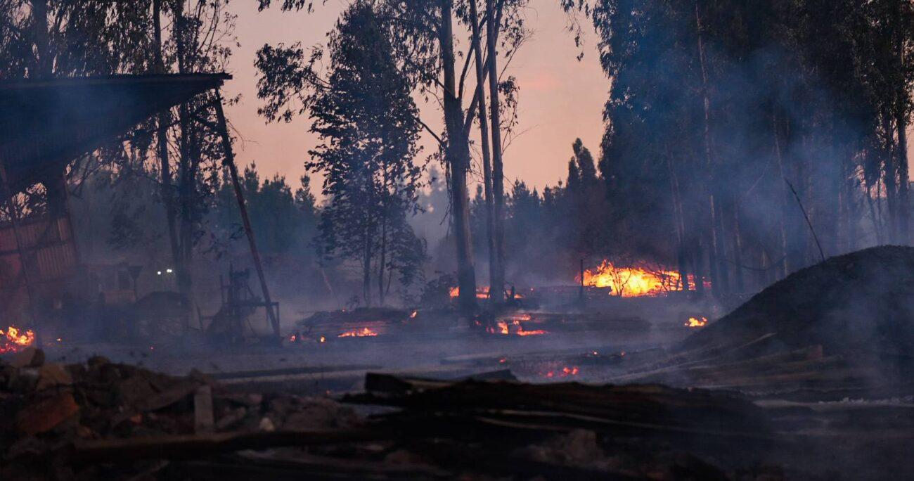 Los hechos se desencadenaron tras una quema controlada de pastizales, según informó Bomberos. (Agencia UNO/Archivo)