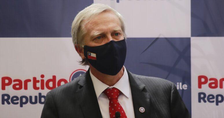 """""""Partido Republicano en alerta por salud de Kast:"""