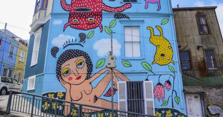 """""""Ministra de Culturas y mural de Mon Laferte:"""