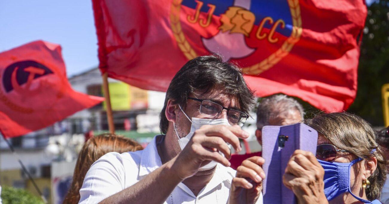 El alcalde de Recoleta se despega además de sus contendores en la oposición. Foto: Agencia UNO/Archivo