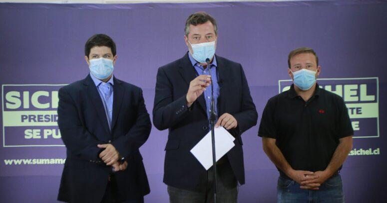 Sebastián Sichel entrega su respaldo a la postergación de las elecciones de abril