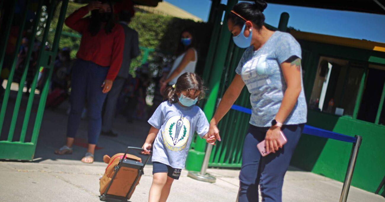 Este lunes 1 de marzo comenzó oficialmente el año escolar 2021 (Agencia UNO)