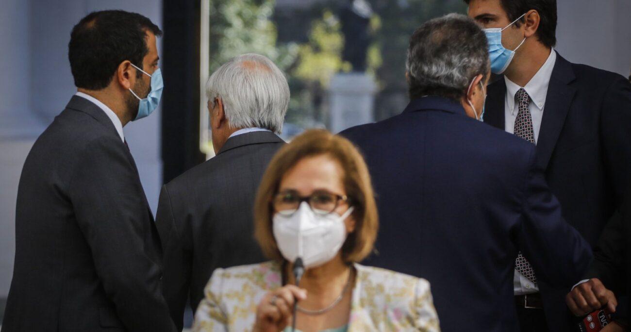 La presidenta del Senado cuestionó las diversas versiones del Gobierno para explicar el hecho. Foto: Agencia UNO/Archivo
