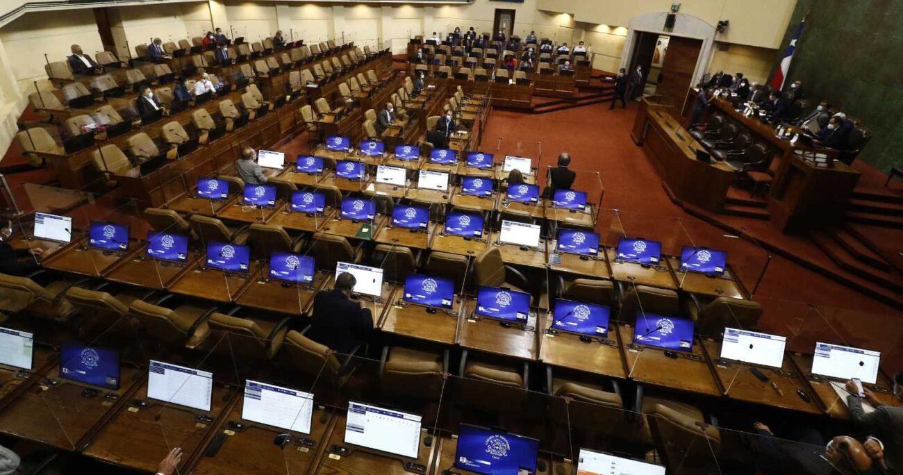 Sesión en sala de la Cámara de Diputados el 2 de marzo de 2021. (Agencia UNO/Archivo)