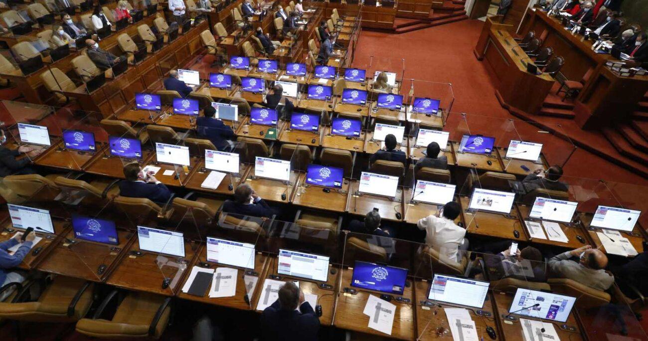 Entre los parlamentarios que se mostraron a favor están cuatro diputados DC. Foto: Agencia UNO