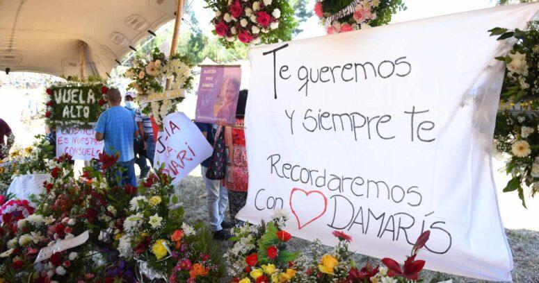 Familiares y allegados despiden a Damaris Meliñir en La Araucanía