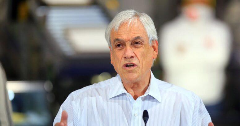 """Piñera defiende votación en dos días: """"Espero que tengamos sensatez y sentido de realidad"""""""