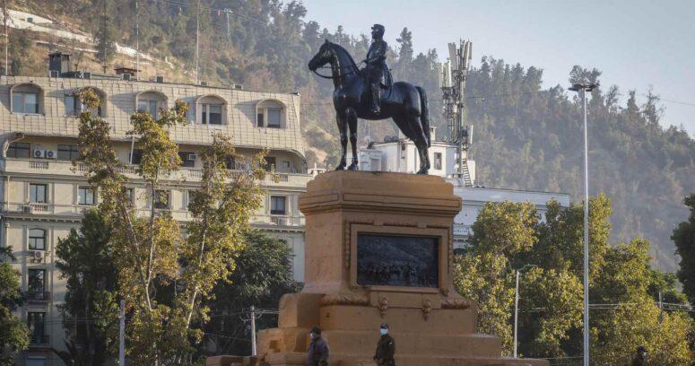 Estatua de general Baquedano será trasladada a Cerrillos