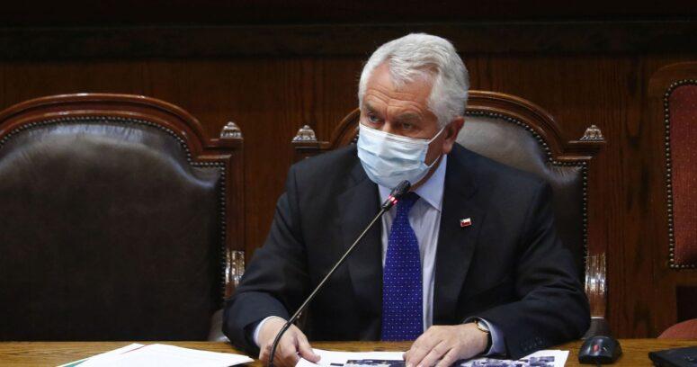 """""""Ministro Paris defendió el Estado de Excepción:"""