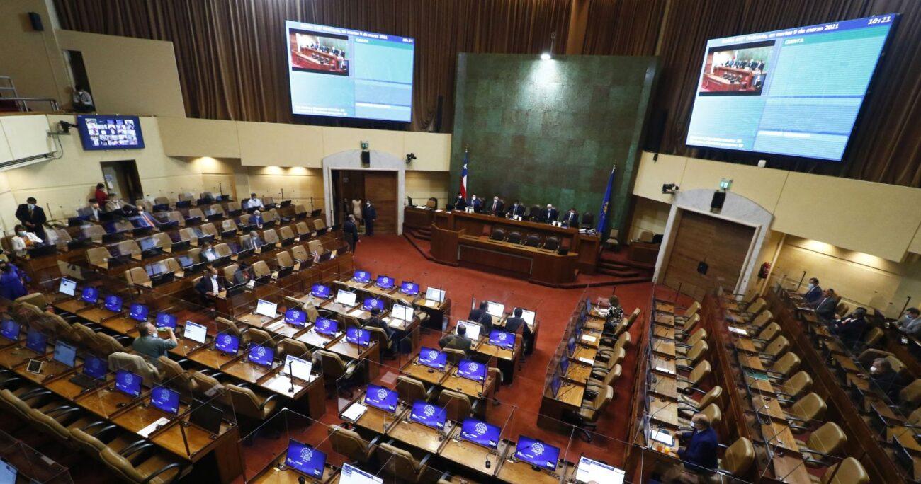 La sesión que analizó el tema en la Cámara Baja. (Agencia Uno)