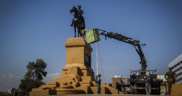 """Guevara y estatua de Baquedano: """"No importa que monumentos esté, estos delincuentes lo dañarían igual"""""""