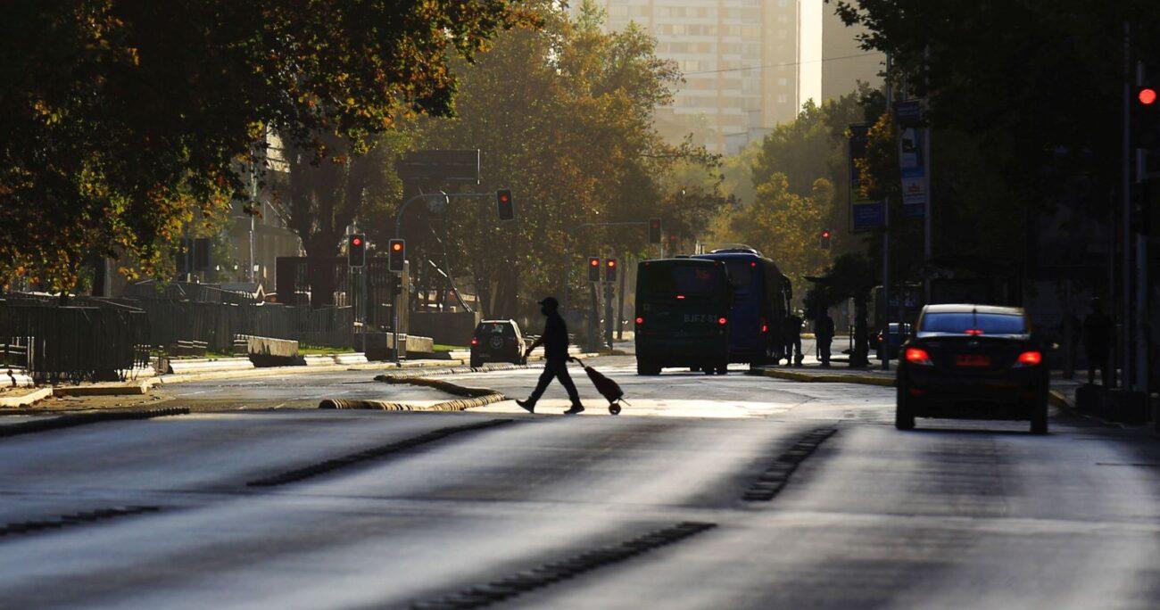 Santiago no estaba en cuarentena desde agosto de 2020. (Agencia UNO/Archivo)
