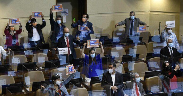 Cámara de Diputados aprueba idea de legislar proyecto del royalty minero