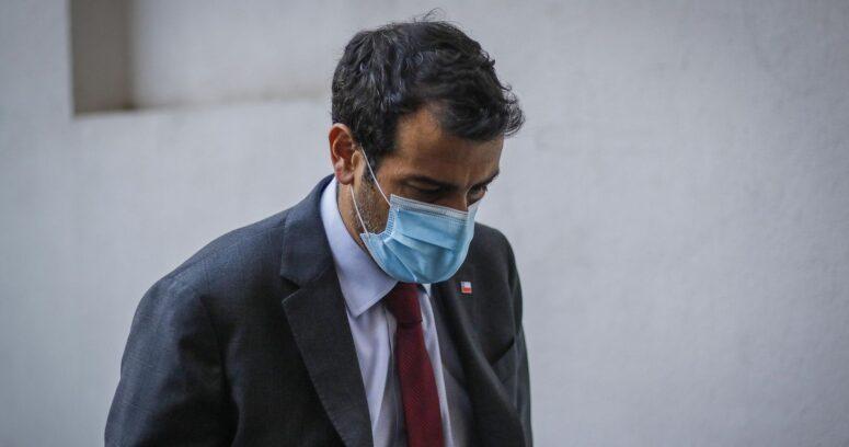 Rodrigo Delgado volvió a La Moneda tras su contagio con COVID-19