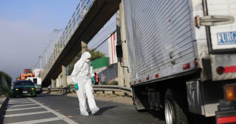 Nueva encerrona a camiones: conductor secuestrado fue encontrado en Lampa