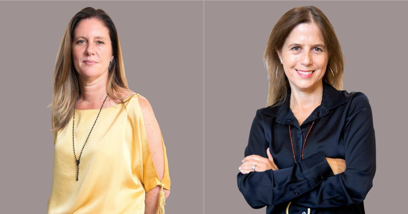 Alicia Zaldívar y Carolina Altschwager tienen diversa experiencia en medios de comunicación. (Canal 13).