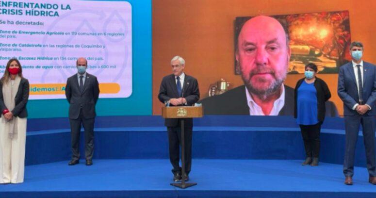 """""""Gobierno firma proyecto para crear Ministerio de Obras Públicas y Recursos Hídricos"""""""