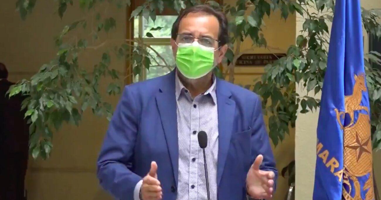 Además de Mulet, la acusación cuenta con el apoyo de los diputados Felix González y Marcelo Díaz. (Captura de pantalla).