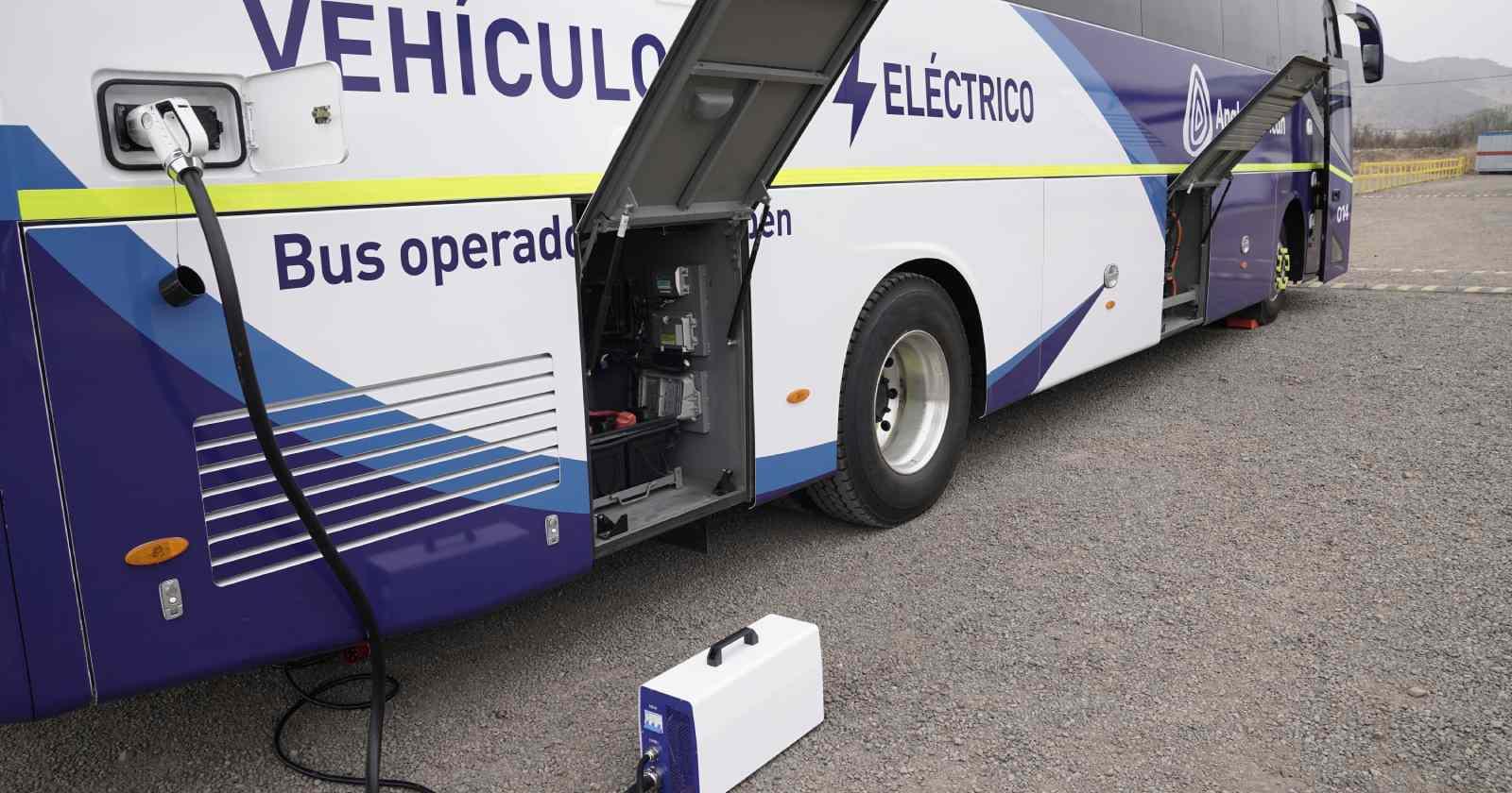 Los vehículos son de la marca King Long, uno de principales fabricantes de buses eléctricos del mundo.