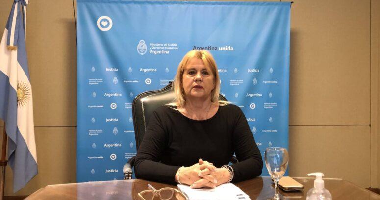 """""""Está agobiada"""": Alberto Fernández anuncia la renuncia de la ministra de Justicia"""