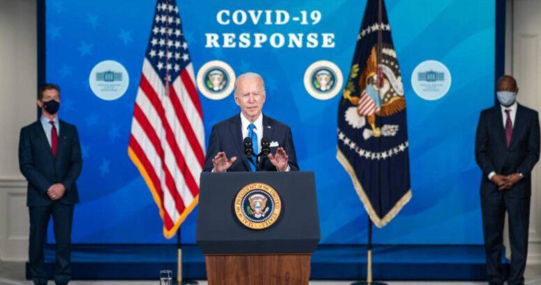 Joe Biden anunció vacunas para todos los mayores de 18 años a partir del 1 de mayo