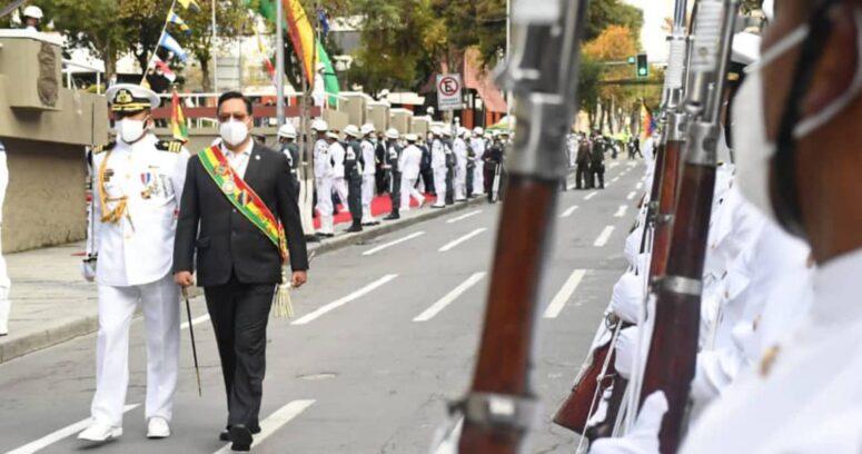 """""""Presidente de Bolivia revive demanda marítima"""""""