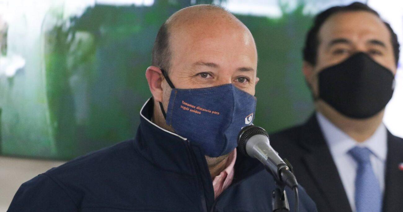 Manuel Guerra le pidió perdón a los vecinos de Providencia por la situación de violencia que no cesa en Plaza Italia / Foto: Agencia Uno-Archivo.