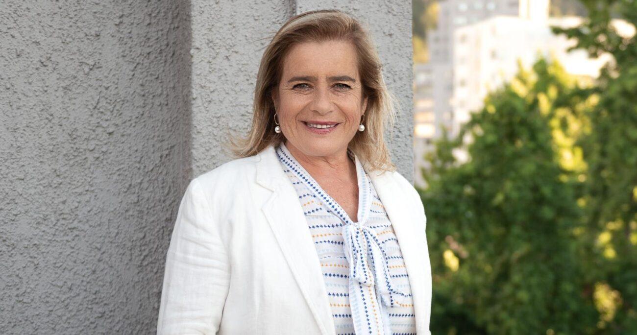 Flor Weisse está en campaña para convertirse en la próxima gobernadora regional del Biobío.