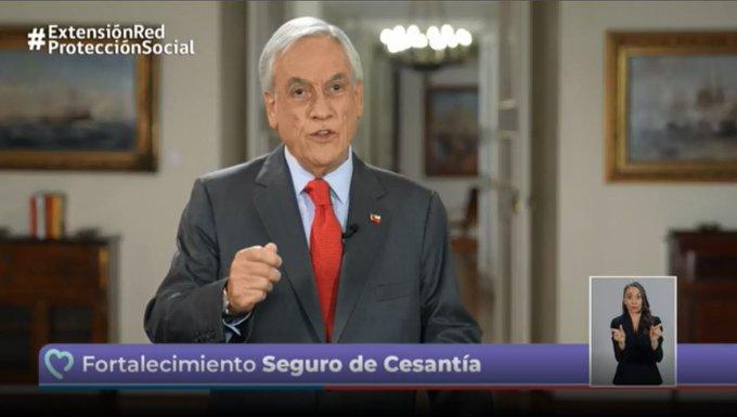 Los transportistas también serán beneficiados con un préstamo y bono solidario. Foto: Gobierno de Chile