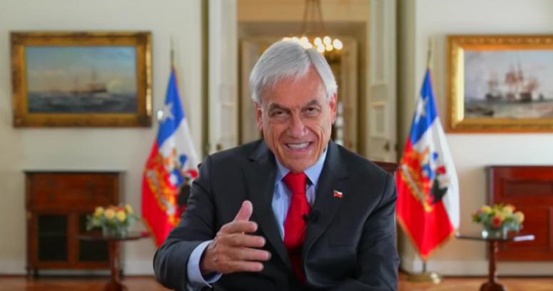 """Piñera: """"Esperamos obtener la inmunidad de rebaño antes de finales de junio"""""""
