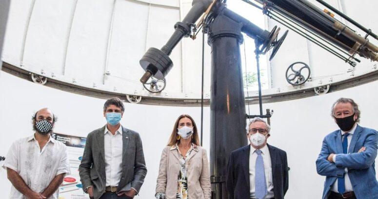 """""""Ministros de Ciencia y Medio Ambiente lanzan experimento para medir contaminación lumínica en Chile"""""""