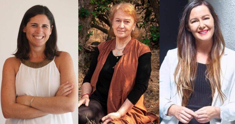 Debate con las candidatas a constituyentes Sylvia Eyzaguirre, Sara Larraín y María José Becerra