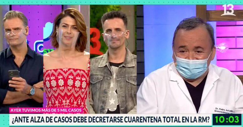 """""""El comentario machista que lanzó doctor en pleno Bienvenidos"""""""