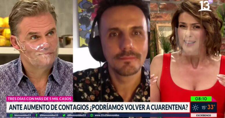 """""""Sergio Lagos inició cuarentena preventiva:"""