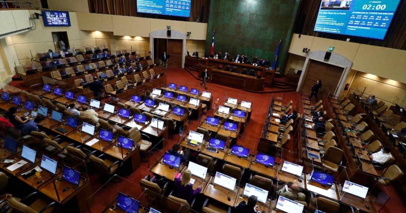 Vista general de la sesion de la Camara de Diputados de este miércoles 3 de marzo. (Agencia Uno).