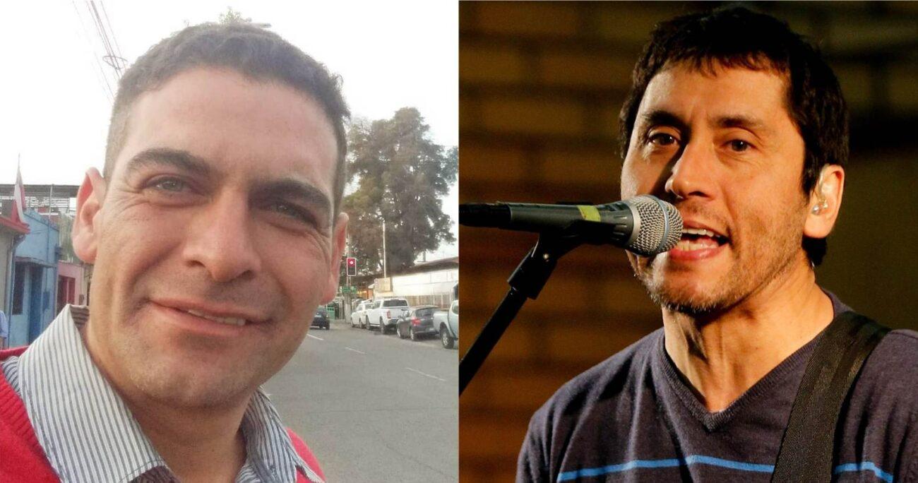 El concejal Luis San Martín se declaró un fanático de Los Prisioneros, pese a ser de derecha. (Facebook/Agencia Uno).