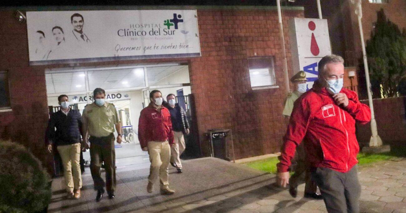En tanto, Iván Núñez se encuentra estable y no presentó lesiones de gravedad. (Agencia Uno).