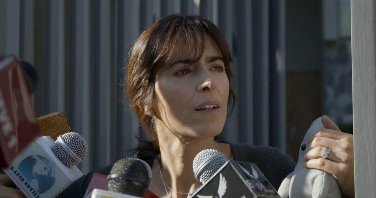 Paz Bascuñán fue elogiada por su actuación en la producción. (Mega).