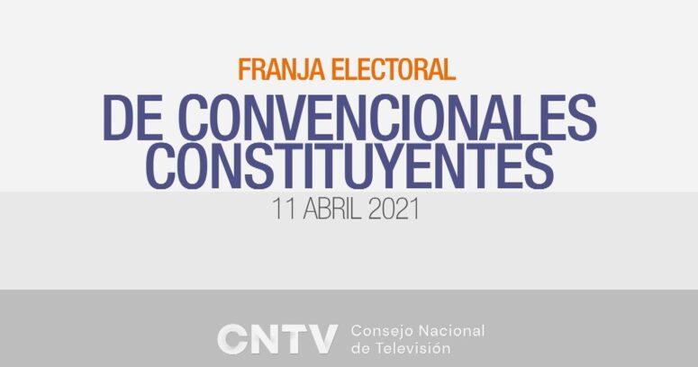 VIDEO – Diaguitas y Collas iniciaron la franja electoral de Convencionales Constituyentes