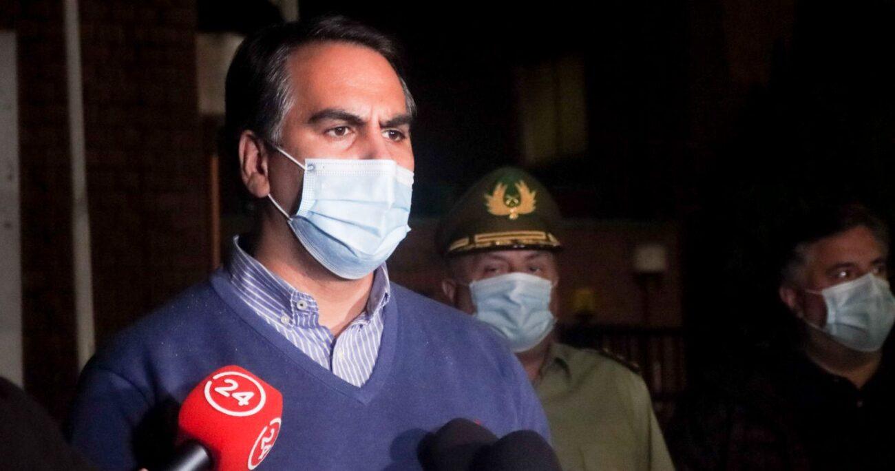 El camarógrafo Esteban Sánchez se encuentra fuera de riesgo vital. (Agencia Uno).