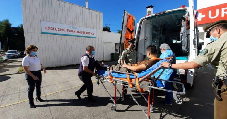 Robo de madera terminó con enfrentamiento a balazos en La Araucanía