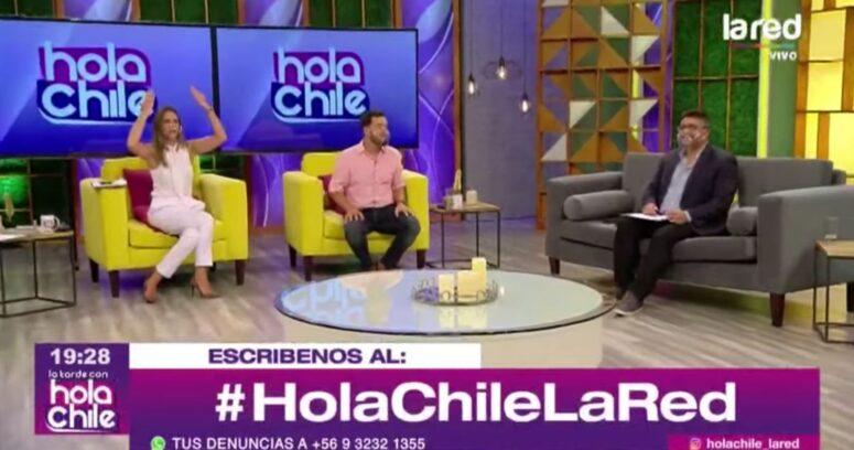 VIDEO – Así reaccionó Hola Chile a la salida de José Antonio Neme de La Red