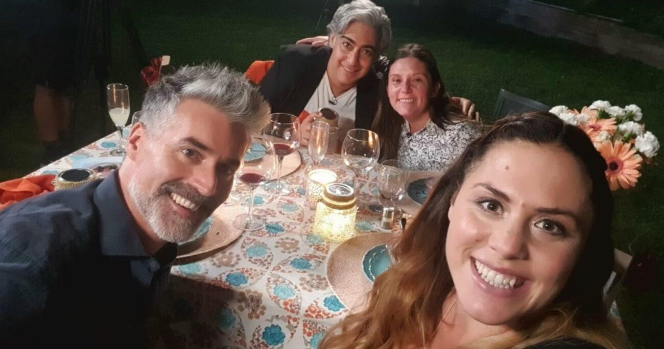 Junto al político también estarán Natalia Duco, Carlos Díaz y María José Quiroz. (CHV).