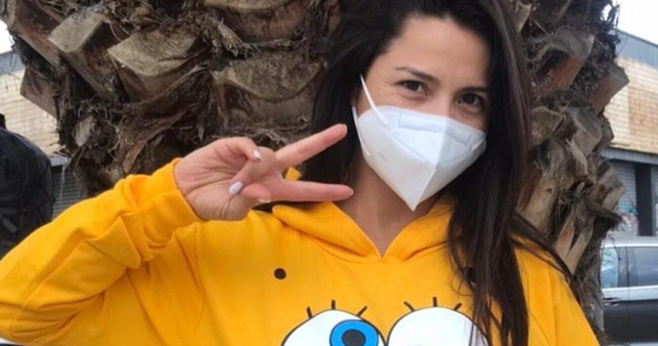 A pesar de todo, la actriz logró solucionar su problema gracias a un laboratorio. (Instagram).