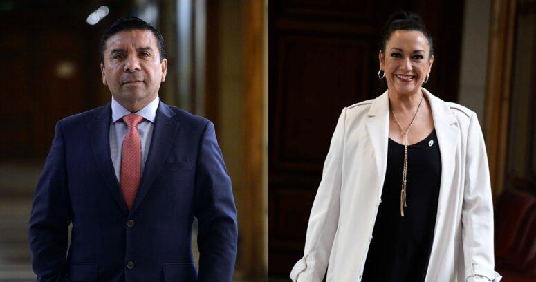 """""""Comisión de Ética multa a diputado Pedro Velásquez tras insultos contra Marisela Santibáñez"""""""