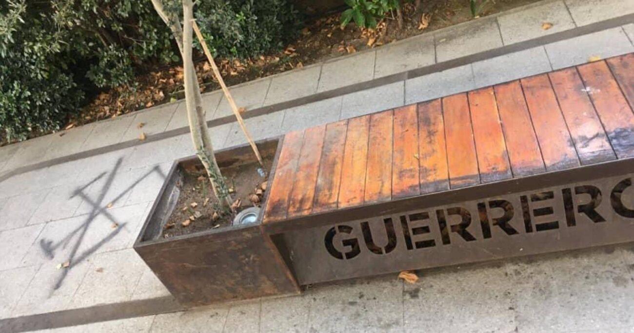 El memorial está en Los Leones con El Vergel, donde se ubicaba el Colegio Latinoamericano de Integración (Twitter @manuel_guerrero)