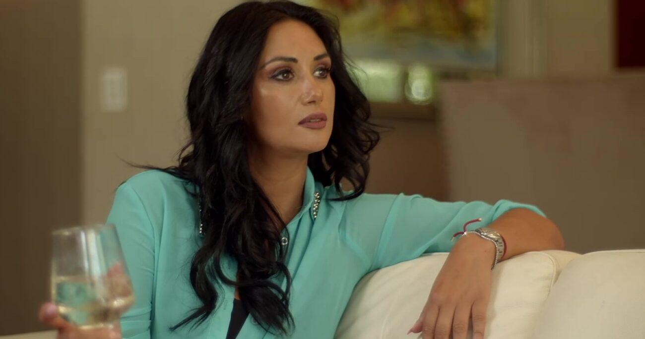 Pamela Díaz reveló que cuando decidió separarse de él estaba embarazada de su segundo hijo. (Canal 13).