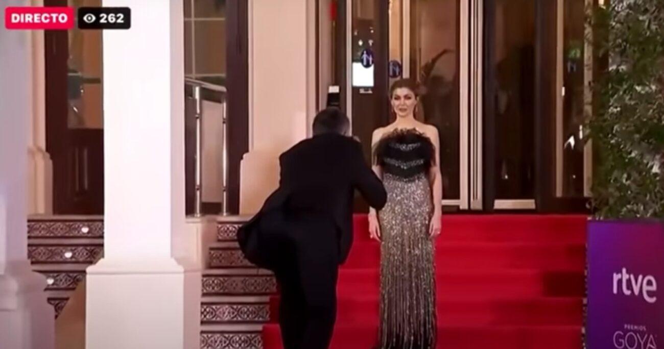 La ceremonia de los Premios Goya se llevaron a cabo en Málaga este año. (Captura de pantalla/RTVE).